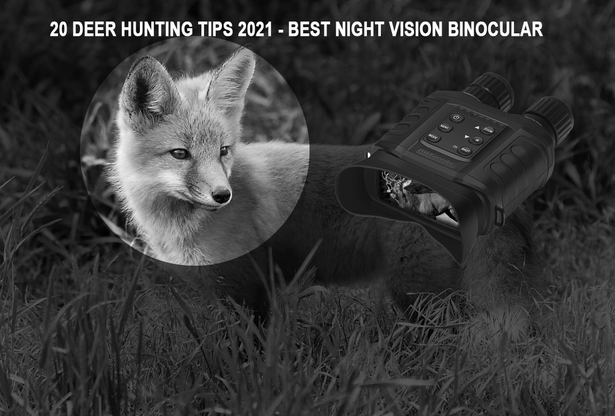 20 Deer Hunting Tips To Make You A Better Deer Hunter Night Vision Binoculars 2021 1